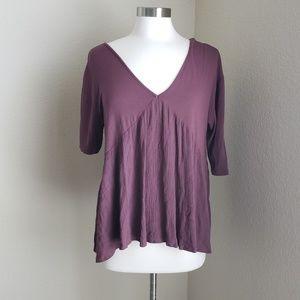 altar'd state maroon purple top babydoll